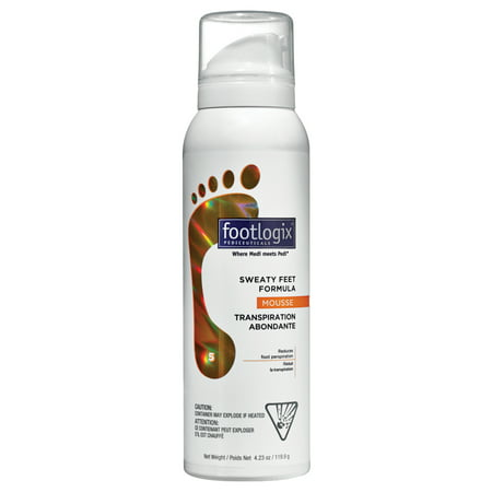 Footlogix Sweaty Feet Formula 4.2 oz / 125 ml