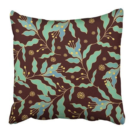 - BPBOP Flower Floral Pattern Batik Patch Ethnic Malaysia Medieval Arabesque Arabian Pillowcase Pillow Cushion Cover 18x18 inch