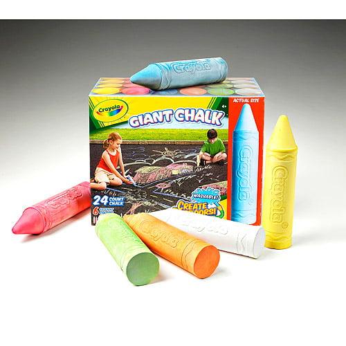 Crayola Giant Sidewalk Chalk Value Pack