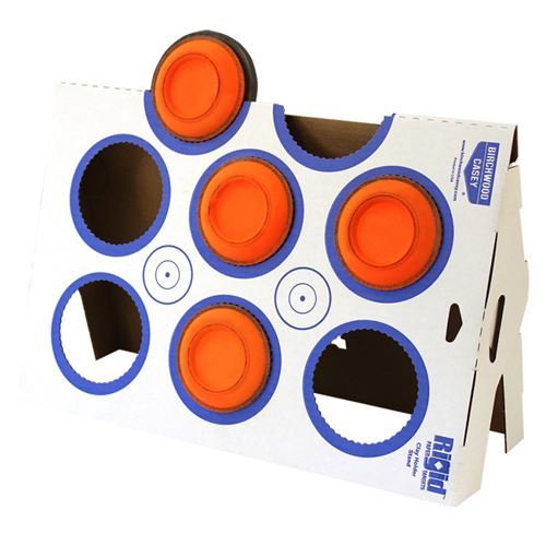 Birchwood Casey Rigid Clay Target Stand Corrugatd Cardboard Kit