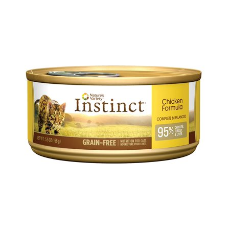Nature's Variety Instinct Grain-Free Canned Cat Food (Instinct Canned Cat Food)