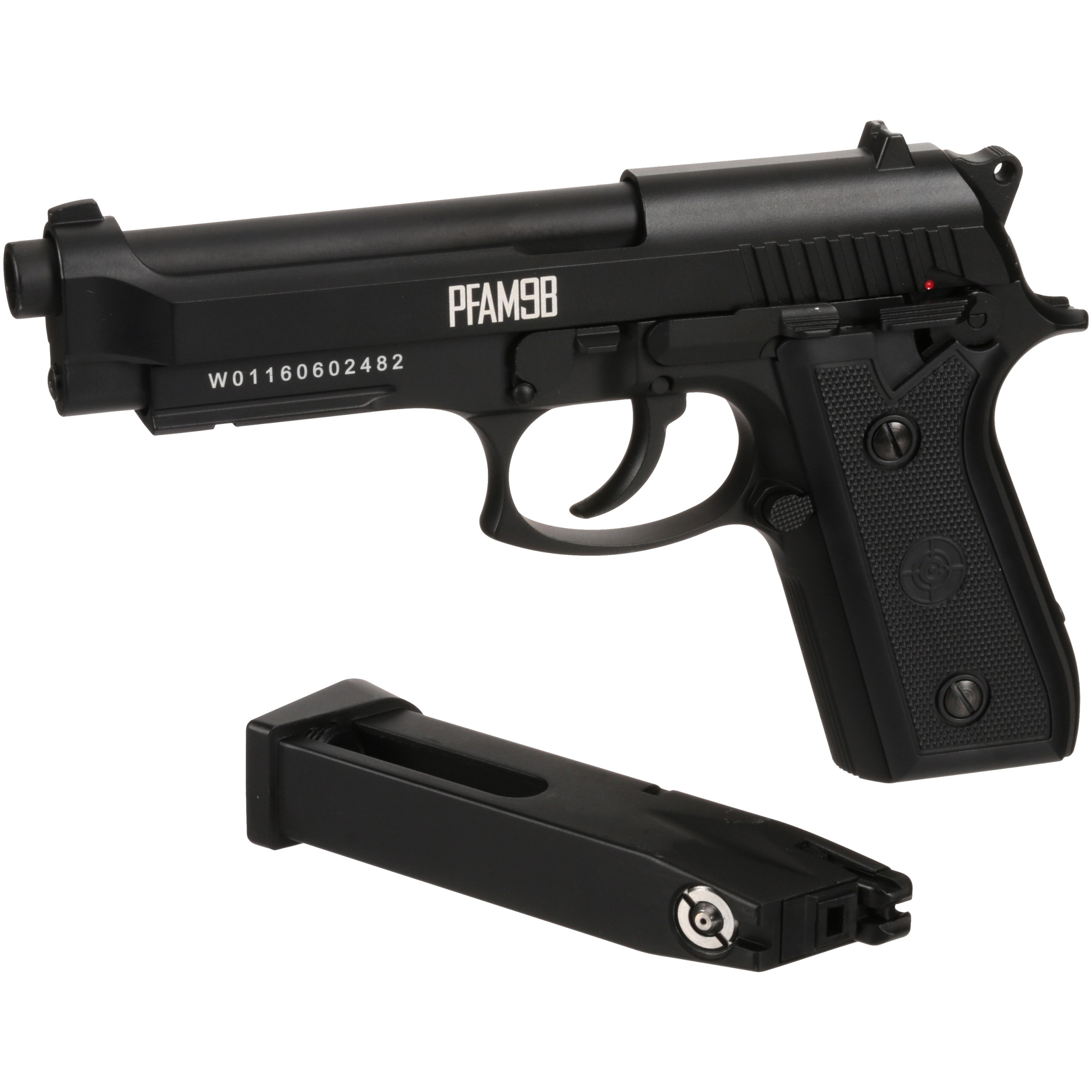 Click here to buy Crosman PFAM9B Blowback Full Metal Full-Auto BB Pistol Carded Pack by Crosman Corporation.