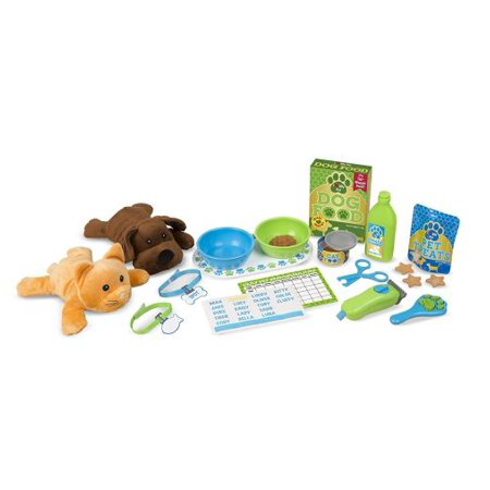 Pet Care Feeding And Grooming Playset - image 1 de 1