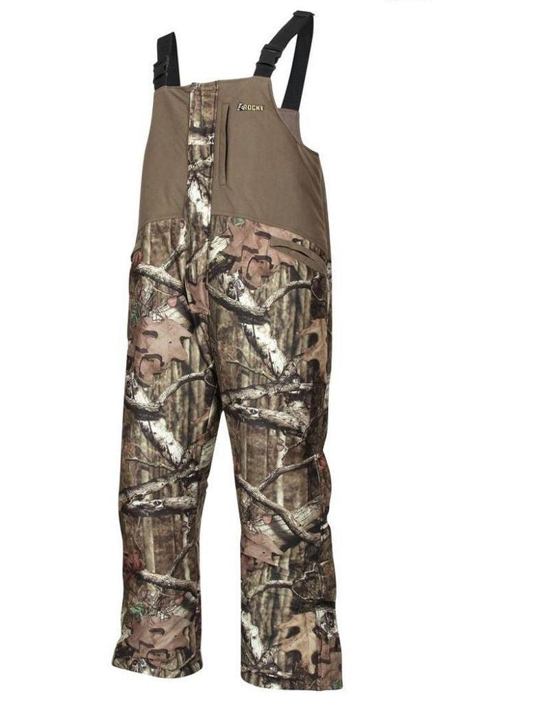 Rocky Outdoor Pants Mens ProHunter Reversible Bib WP Mossy Oak HW00130 by Rocky