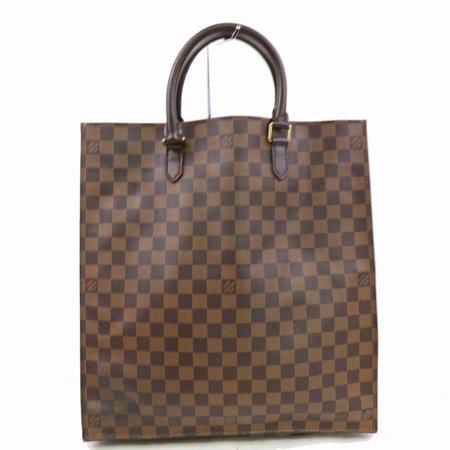 Louis Vuitton Damier Eben Sac Plat Shopper Tote 871218