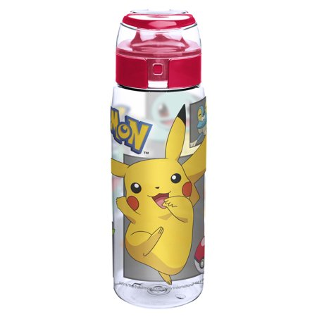 Zak! Designs Pokemon 25 Ounce Pikachu Water Bottle, 1 Each](Pokemon Water Bottle)