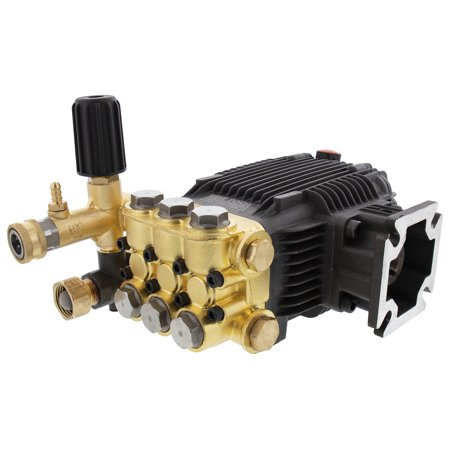 Erie Tools 3.1 GPM 3000 PSI Triplex Pressure Power Washer Pump for Hot Cold Water Cat General AR