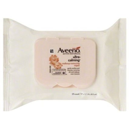 Aveeno, Ultra Calming Makeup, Removing Wipes ()