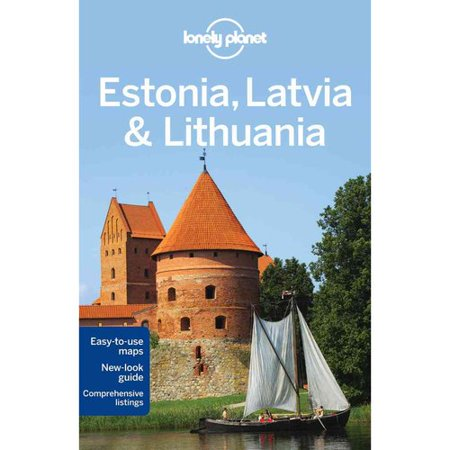 Lonely Planet Estonia Latvia & Lithuania