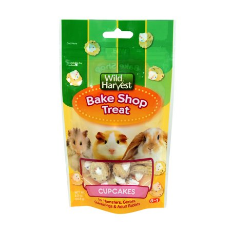 (2 Pack) Wild Harvest Bake Shop Cupcake Treats for Small - Care Small Animal Treats