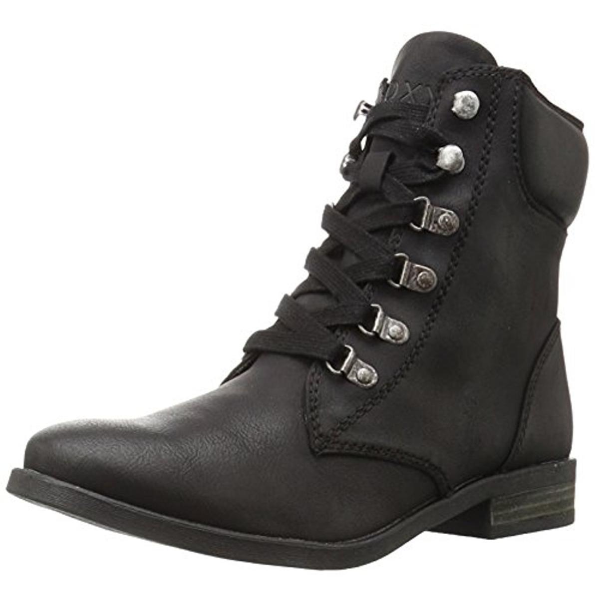 roxy   roxy s fulton faux cuir bottes de moto de cheville ee5bae