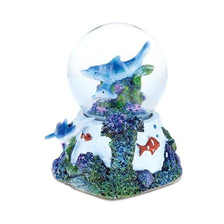 Dolphin Cove Underwater Nirvana Snow globe (65mm) - Halloween The Movie Snow Globe