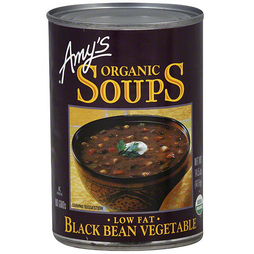 Amy's Black Bean Vegetable Soup, 14.5 oz (Pack of 6)
