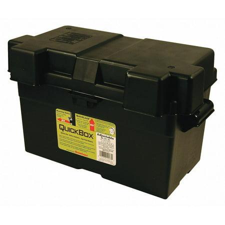 "Quick Cable Battery Box, Black, 17-3/4"" L x10-15/64"" W   120173-360-001"