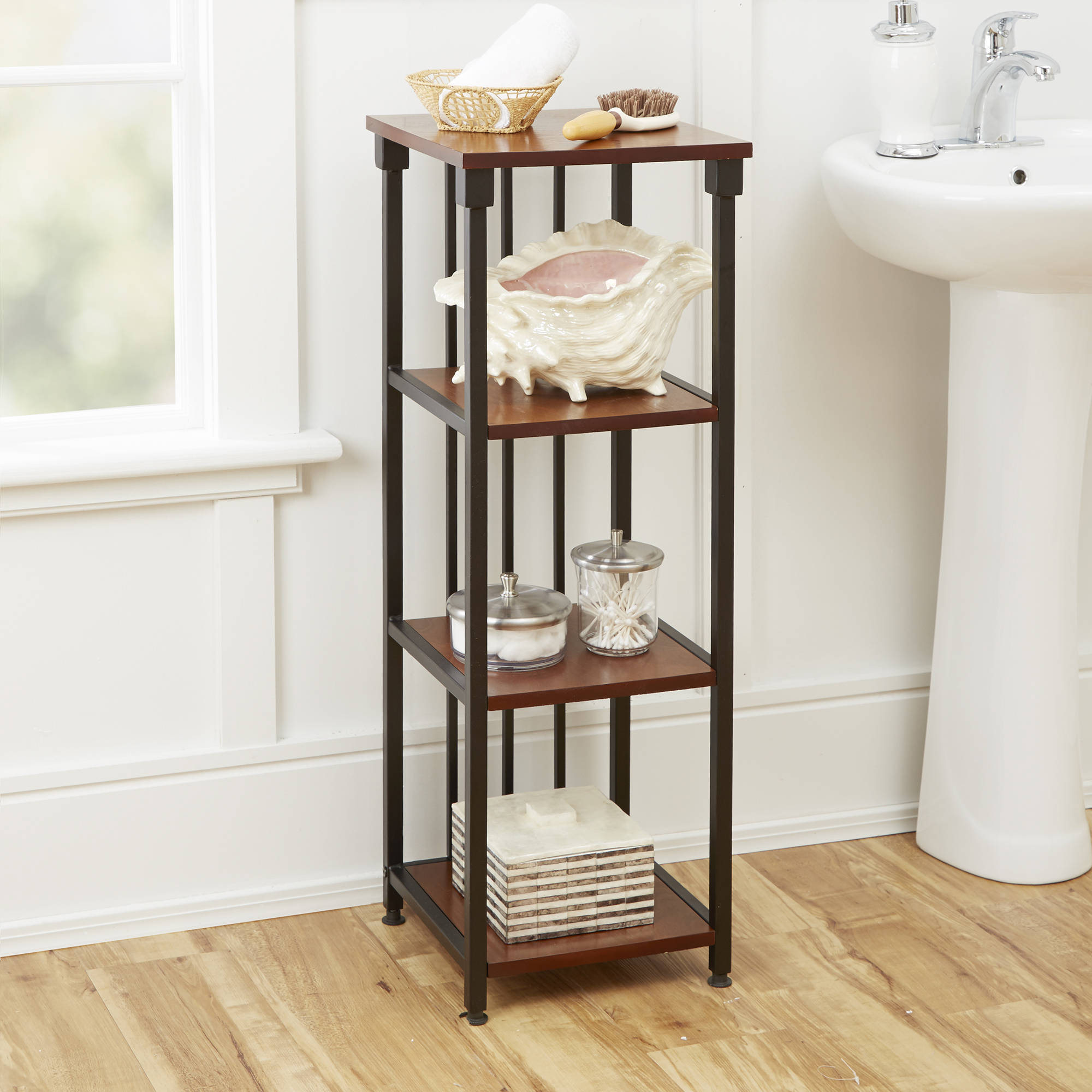 Chapter Kensington Bathroom Linen Tower - Walmart.com