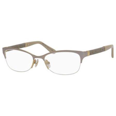 Jimmy Choo 106 Eyeglasses 0F78 52 Matte Dove Gray