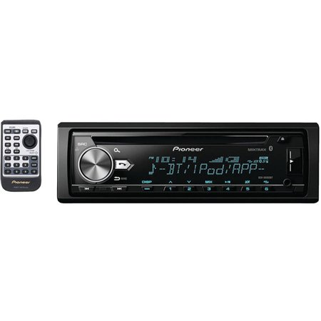 Pioneer DEH-X6900BT Single-DIN In-Dash CD Receiver with MIXTRAX, Bluetooth  and 13-Band Equalizer