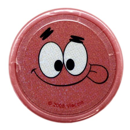 Spongebob Squarepants Patrick Star Goofy Face Pink Case Self-Inking Stamp