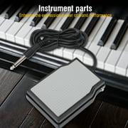 Kritne Piano Foot Damper, Electronic Keyboard Sustain Pedal Damper for Digital Piano Instrument Accessory, Keyboard Sustain Pedal
