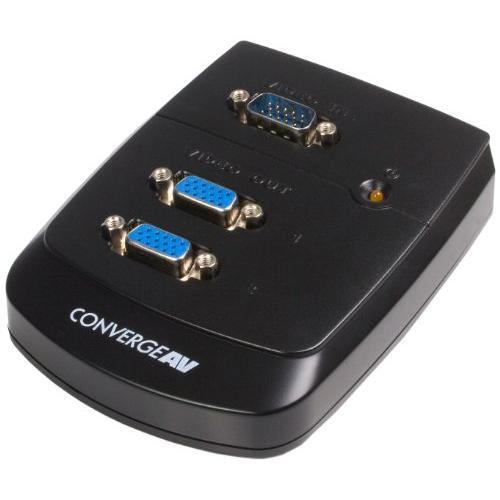 Startech.com 2 Port Vga Video Splitter - 1 X Hd-15 Video In, 2 X Hd-15 Video Out - 1600 X 1200 - Uxga (st122w)