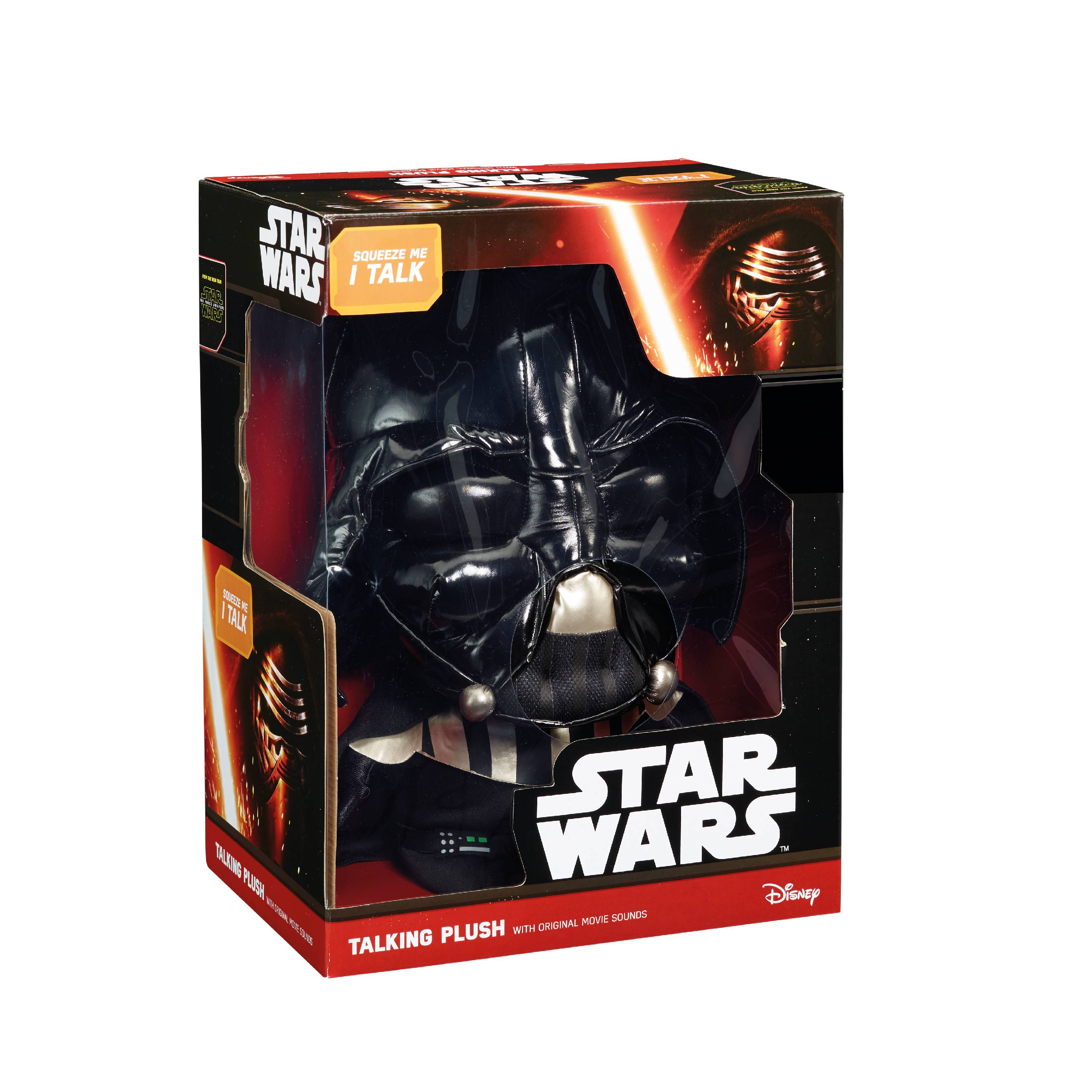 star wars 15 inch deluxe darth vader plush