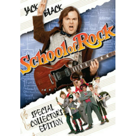 School Of Rock (DVD) (Movies Rock Piano)