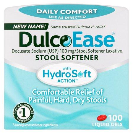 Dulcolax Liquid Gels Value Pk Stool Softener  100 Ct