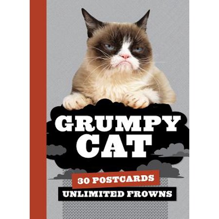 Grumpy Cat Postcard Book : 30 Postcards, Unlimited Frowns