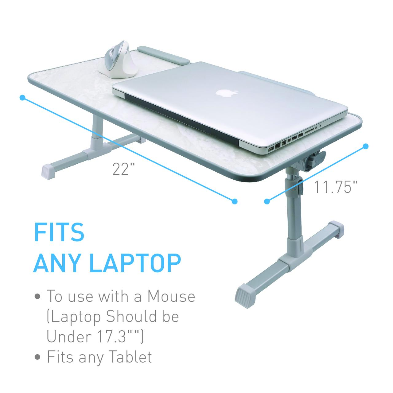 Macally Portable Laptop Table For Bed