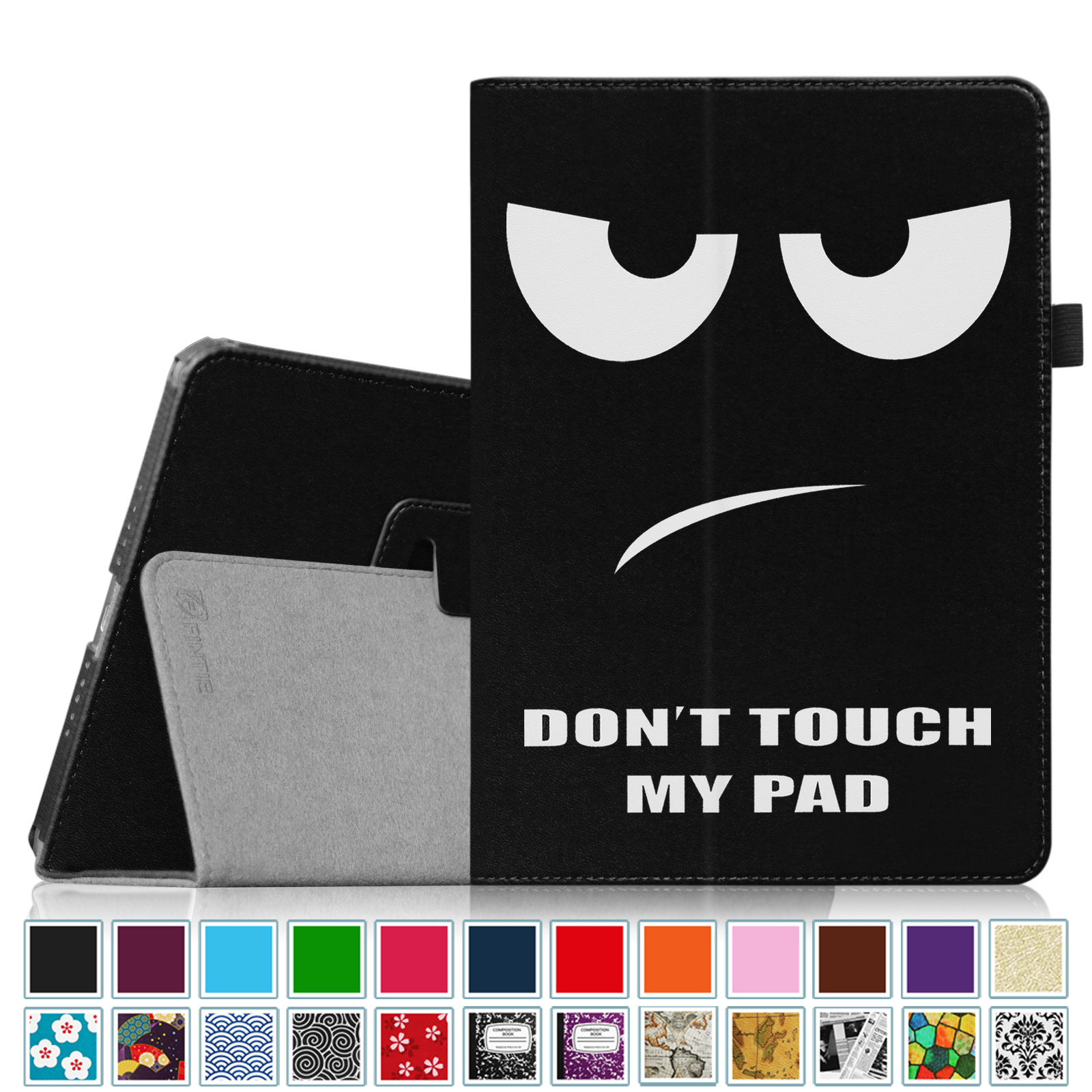 iPad Air 2 Case [Corner Protection] - Fintie Slim Fit Leather Folio Case with Auto Sleep / Wake, Dont Touch