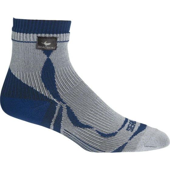3b4b160f1 SealSkinz - Seal Skinz Thin Ankle Length Sock  Gray MD - Walmart.com