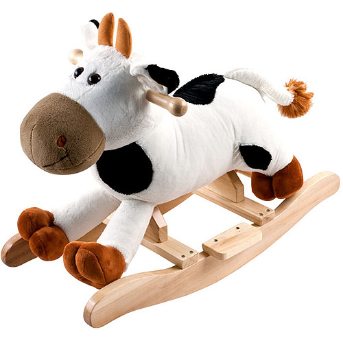 Trademark Games Inc Happy Trails Plush Rocking Animal With Sounds,