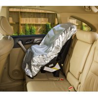 Car Seat Sun Shade Cover - Keep Your Baby's Carseat at a Cooler Temperature - Covers and Blocks Out Heat & Sun - More Comfortable for Baby or Child - Protection from UV Sunlight - Mommy's Helper