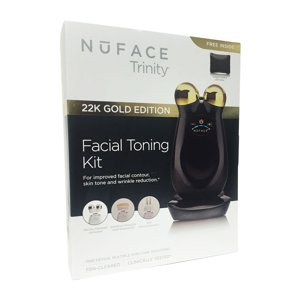 NuFACE Trinity 22K Gold Facial Toning Kit (1 Attachment)