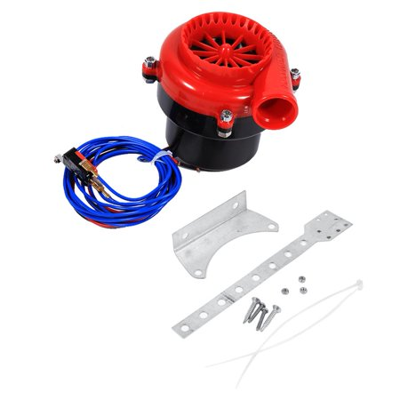 Car Electronic Fake Dump Turbo Blow Off Hooter Valve Analog Sound BOV Simulator Kit, Fake Dump Turbo Analog, Fake Dump Turbo Valve ()