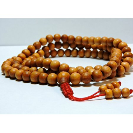 108 Bead Wood Mala for Meditation