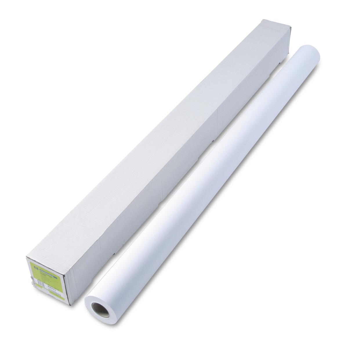 "HP Designjet Inkjet Large Format Paper, 26 lbs., 60"" x 150 ft, White"