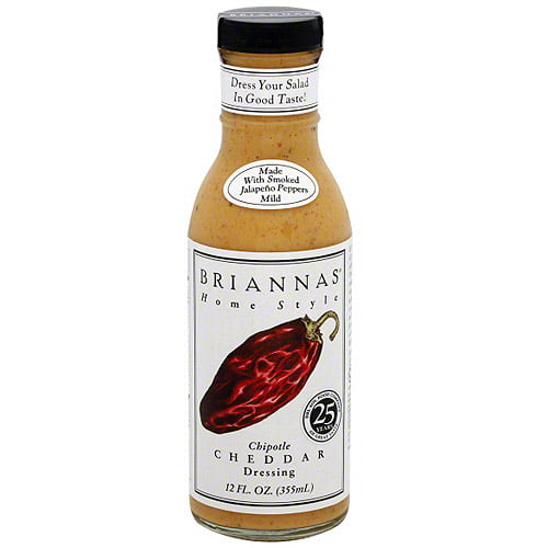 Brianna's Home Style Chipotle Cheddar Dressing, 12 oz (Pack of 6) by Generic