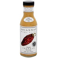 Brianna's Home Style Chipotle Ranch Dressing, 12 oz (Pack of 6)