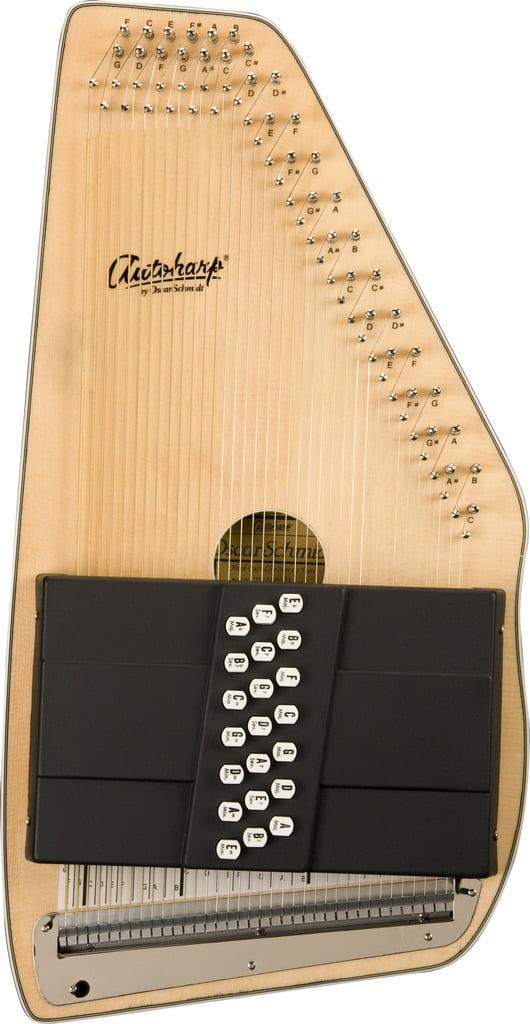 Oscar Schmidt 21 Chord Autoharp, Solid Spruce Top, Mahg Back, OS10021 by Oscar Schmidt