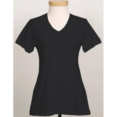 - Tri-Mountain Appeal 130 Cotton V Neck Jersey, 2X-Large, Black