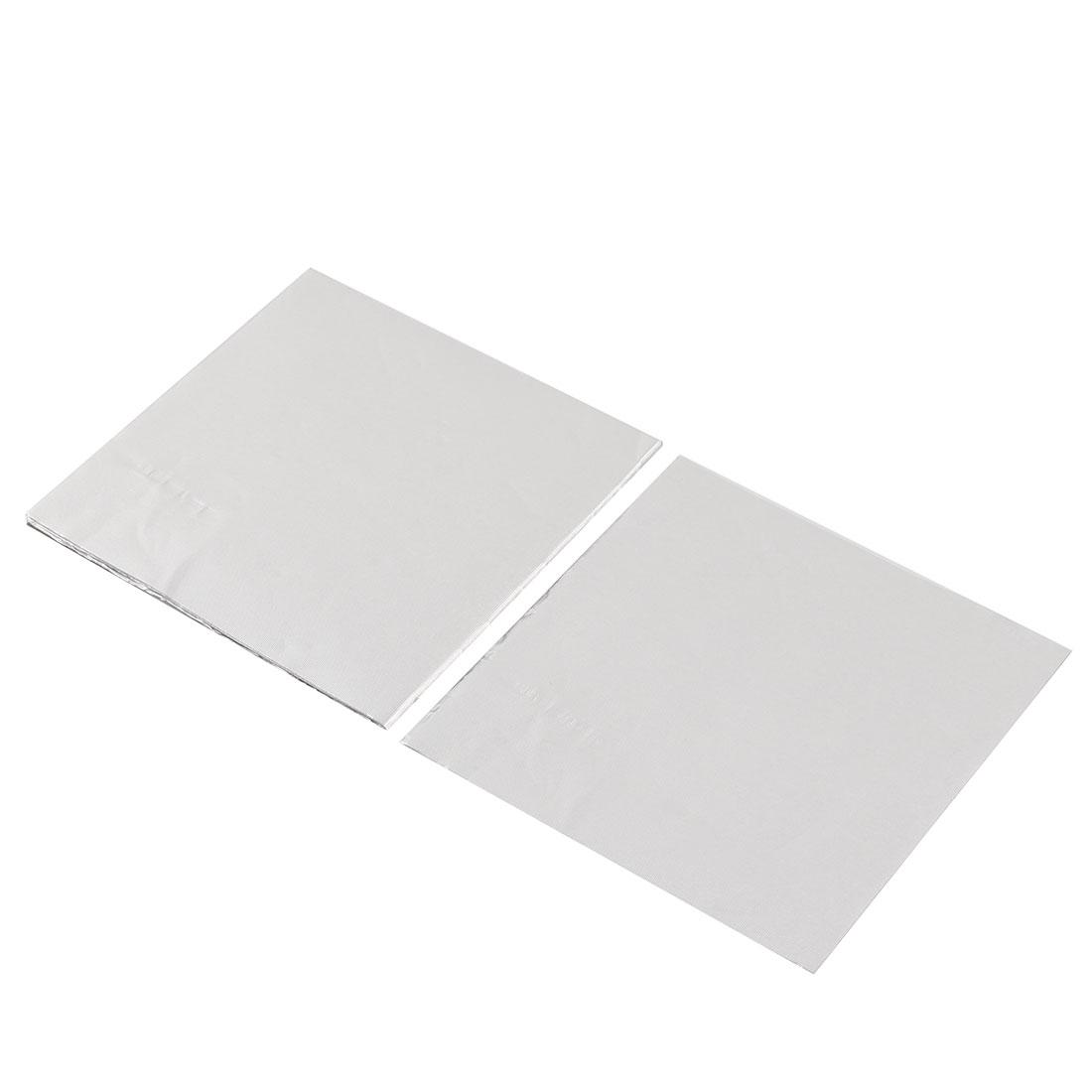 Cuisson Aluminium Chocolat Bonbons Wrappers Papier Aluminium 8 x 8cm 100pcs - image 3 de 3