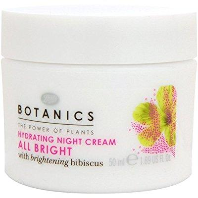 boots botanics all bright hydrating night cream - 1.69 oz