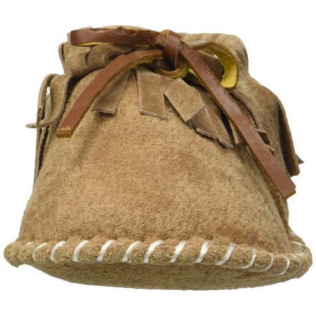 Lamo Sheepskin CK1851-CNT-S Baby Fringe Moccasin - Chestnut, Small - image 1 of 2