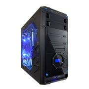 Apevia X-DREAMER4-BL Blue X-Dreamer 4 Metal Case w/ Side Window