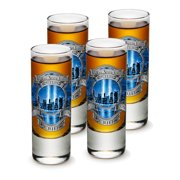 SET OF 4 We Will Never Forget 2 Ounce Shooter Shot Glasses