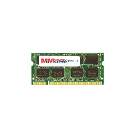 MemoryMasters 1GB (1x1GB) DDR2-667MHz PC2-5300 2Rx8 1.8V SODIMM Memory for Laptop, Notebook