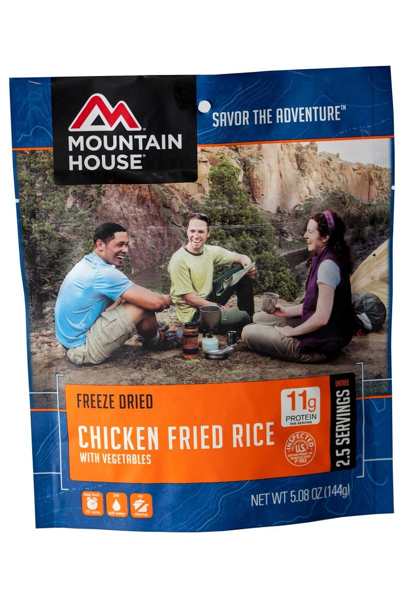 Chicken Fried Rice POUCH, Ship from USA, Brand Mountain House by