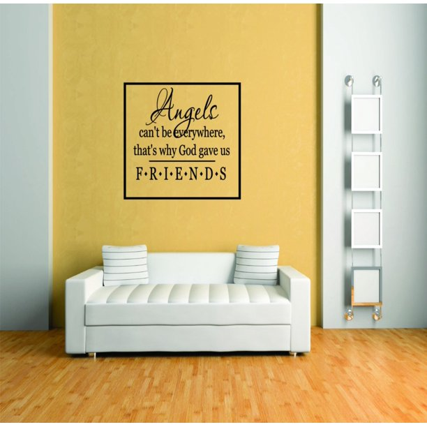 Custom Wall Decal Angel S Can T Be Everywhere Living Room Picture Art Peel Stick Vinyl Wall Decal Sticker Size Inches Walmart Com Walmart Com,2 Bedroom Apartments For Rent Near Me Under 1000