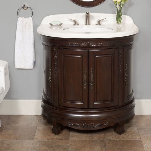 Lanza Moon 35u0027u0027 Single Bathroom Vanity Set